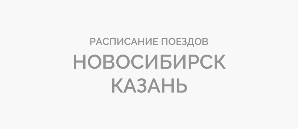 Поезд Новосибирск - Казань